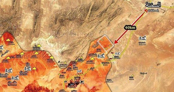 مدينة السخنة تحت سيطرة الجيش السوري