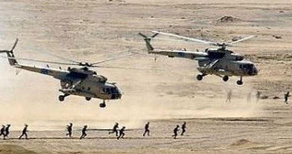 الجيش السوري ينفذ انزال بين الرقة وحمص!