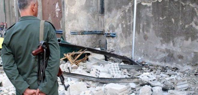 """""""هجوم انتحاري"""" بالقرب من مقر شرطة العاصمة السورية دمشق"""