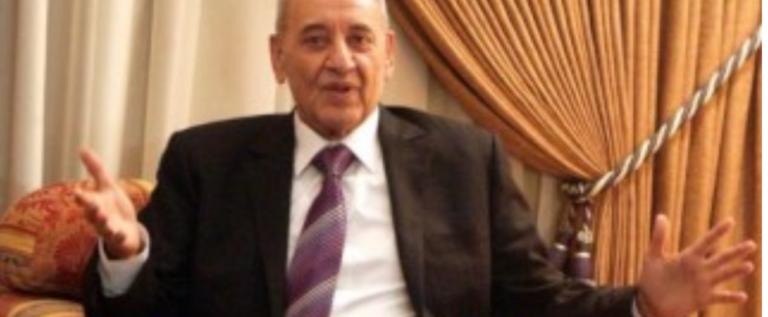 بري التقى السفيرين المصري والفلسطيني