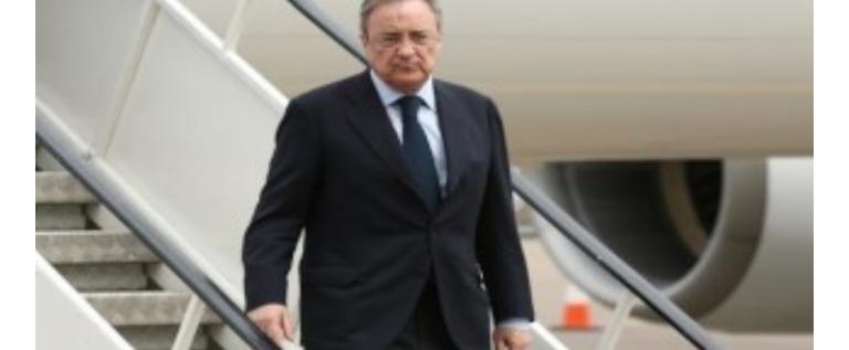 هل هاجم رئيس ريال مدريد نجم برشلونة ووصفه بالغشاش؟