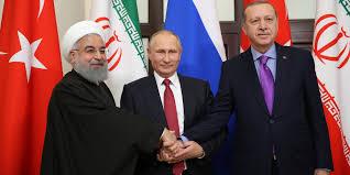 بوتين يعلن اتفاقه مع نظيريه التركي والإيراني على عقد مؤتمر يجمع النظام والمعارضة السوريين