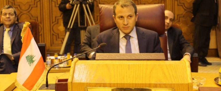 الخارجية: لبنان اعترض على عدم ملاقاة بنود قرار العرب لمستوى خطورة القضية الفلسطينية