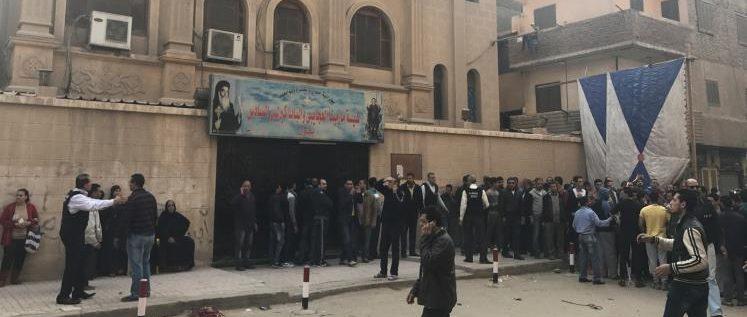 تنظيم الدولة يتبنى الهجوم على الكنيسة جنوبي القاهرة