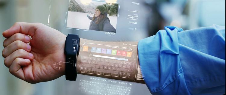 تصاميم مدهشة لهواتف المستقبل