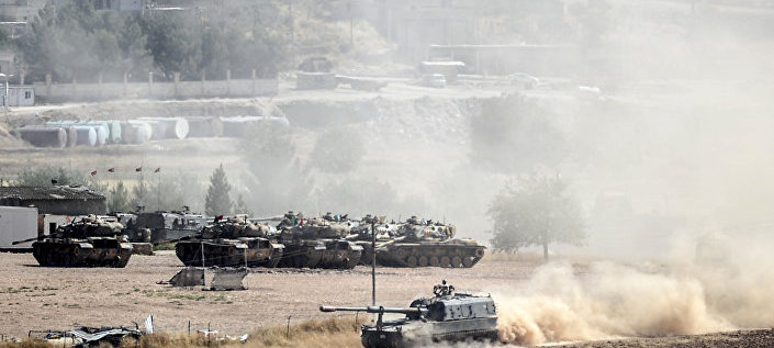 معارك عنيفة في عفرين السورية ومقاتلات تركية تقصف مواقع للأكراد في العراق