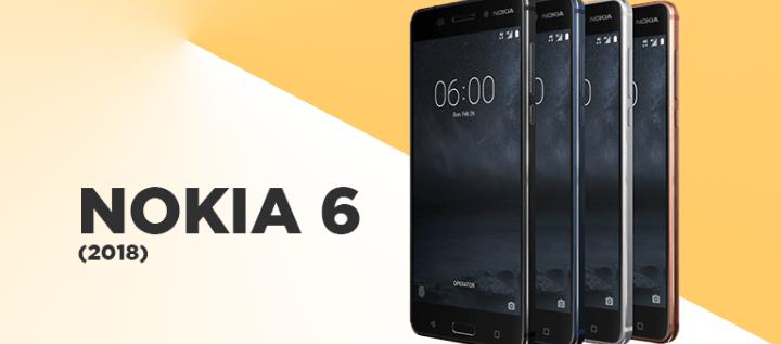 الكشف عن هاتف نوكيا 6 نسخة 2018