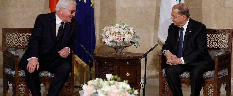 الرئيس عون بعد لقاء شتاينماير: مواجهة اعباء النزوح السوري مسؤولية دولية