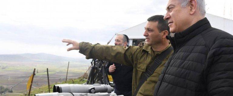 """نتنياهو يهدّد من مرتفعات الجولان: """"لا أنصح أحدًا بأن يختبرنا"""""""