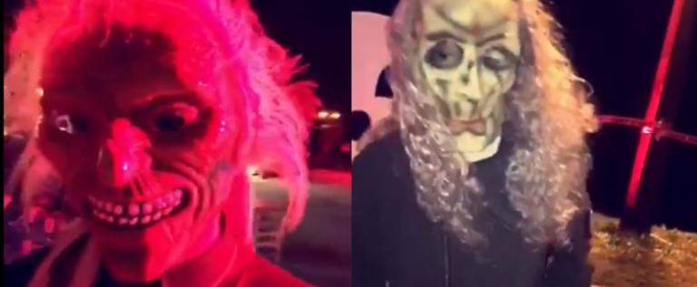 بالفيديو.. رقص جماعي مختلط بـ«مهرجان الرعب» في السعودية