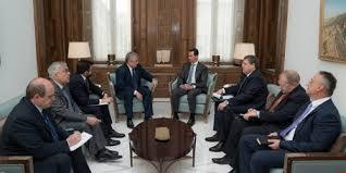 الرئيس السوري يستقبل المبعوث الخاص للرئيس الروسي
