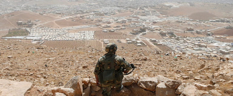 """دوي انفجار على الحدود السورية اللبنانية… و""""حزب الله"""": ليست غارات إسرائيلية"""