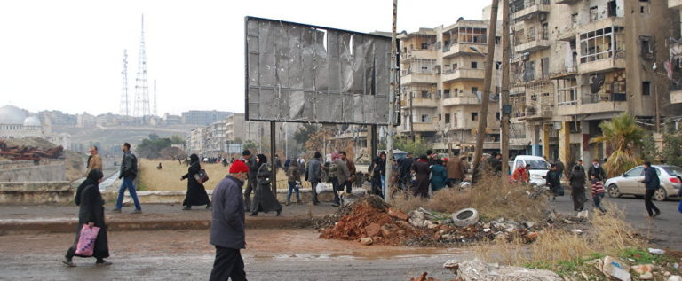 عودة أكثر من ألف شخص إلى ريف حلب قادمين من إدلب