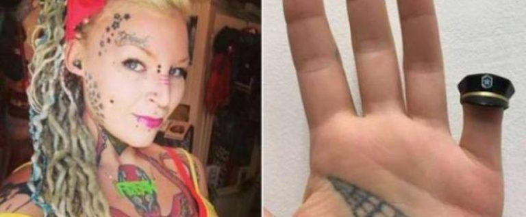 بالفيديو: سلوكها غريب منذ تعرضها للخيانة… قطعت إصبعها وحوّلته إلى قلادة!