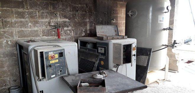 بالصور: العثور على معمل لتصنيع مواد كيميائية وسامة من مخلفات الإرهابيين في الغوطة الشرقية