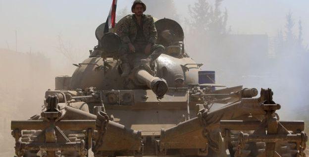 """قوات الحرس الجمهوري """"تتقدم في دوما"""" في الغوطة الشرقية لدمشق"""