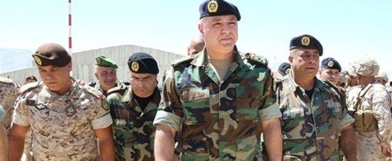 قائد الجيش: التهديد الإرهابي العسكري انتهى لكن التهديد الأمني لا يزال قائماً