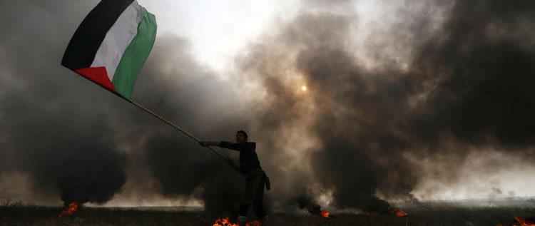 """6 شهداء وألف مصاب بين الفلسطينيين أثناء مسيرات جمعة """"الكوشوك"""""""