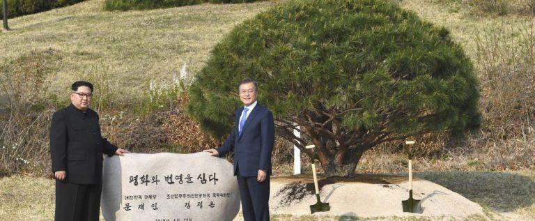 الكوريتان تتفقان على السعي لنزع الأسلحة النووية من شبه الجزيرة