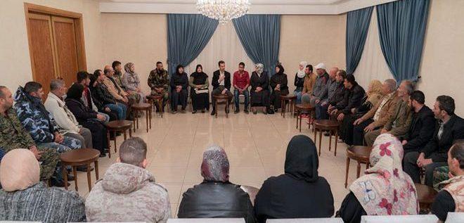 الرئيس الأسد: تحرير المخطوفين ليس قضية إنسانية فقط بل وطنية أيضا