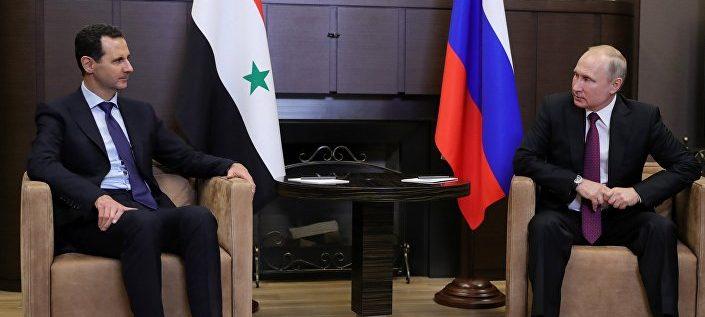 الكرملين: الرئيس بوتين يلتقى بنظيره السوري بشار الأسد في سوتشي… فيديو