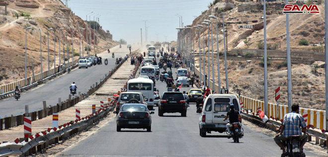 بعد إعادة تأهيله..افتتاح اوتستراد حمص – حماة الدولي