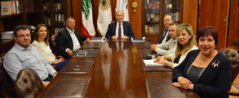 مذكرة تفاهم بين جامعة العزم وغرفة طرابلس