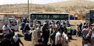 دفعة جديد من النازحين في لبنان تعود الى سوريا