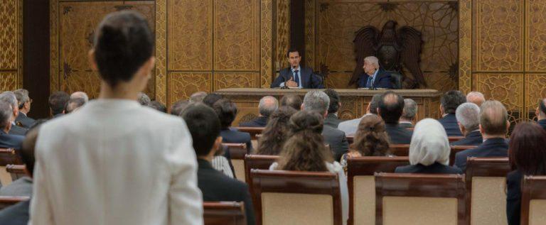 الرئيس الأسد: إعادة الإعمار هي أولى الأولويات في سوريا