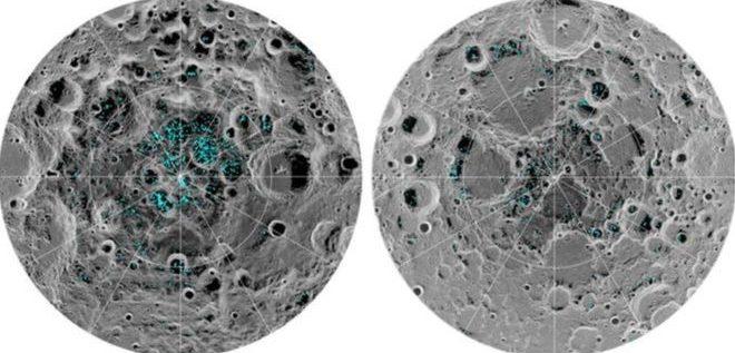 جليد مائي على سطح القمر يبشر بإمكانية الحياة خارج الأرض