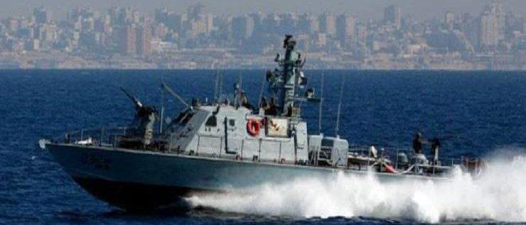 زورق حربي عدو يخرق المياه الإقليمية اللبنانية