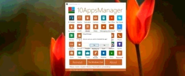 تطبيق لإزالة البرامج غير المستخدمة في ويندوز ١٠