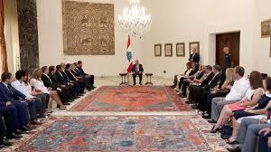عون لوفد لبناني في دول الخليج: نعتمد سياسة النأي بالنفس