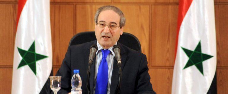نائب وزير الخارجية السوري: سورية عازمة على استعادة كل ذرة من ترابها