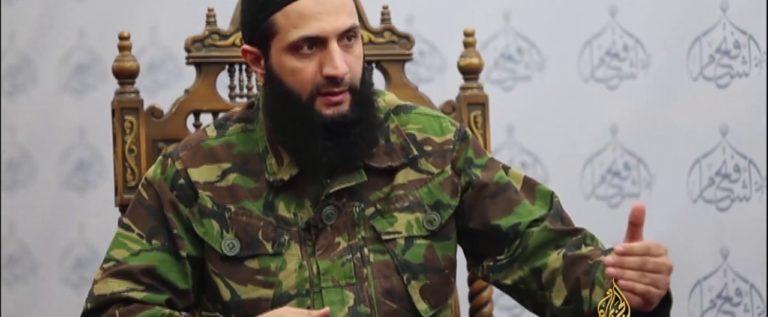 الجولاني يحذر الفصائل المقاتلة في إدلب من التفاوض مع دمشق