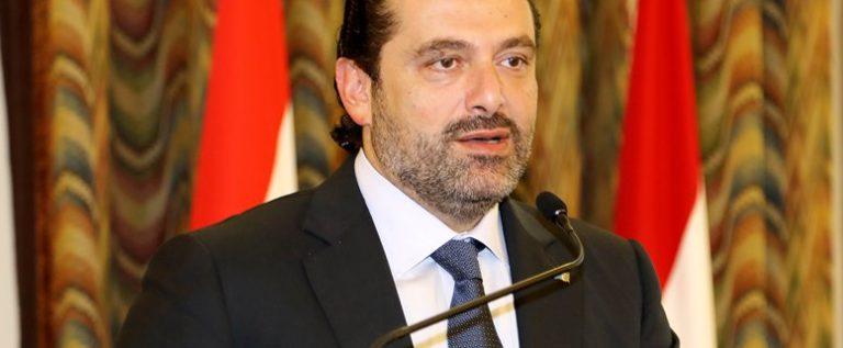 الحريري من بعبدا: سلمت رئيس الجمهورية صيغة حكومة وحدة وطنية
