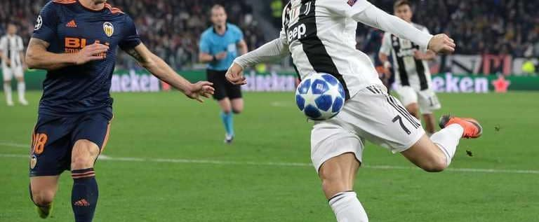 يوفنتوس يتأهل لأبطال أوروبا بعد هدف رائع بصناعة رونالدو