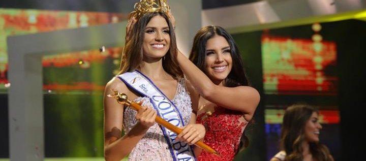 بالصور- اللبنانيّة غبرييلا تافور نادر تفوز بلقب ملكة جمال كولومبيا