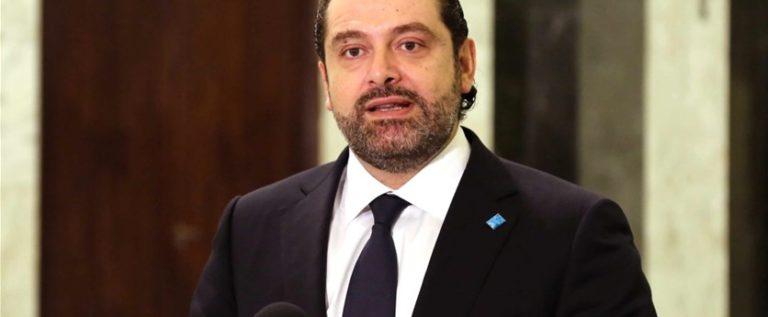 """الحريري: لبنان لا يسعى للتصعيد مع """"إسرائيل"""" والجيش هو المعني بتأمين الحدود"""