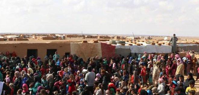 مخيم الركبان أنموذجاً للمأساة.. الوضع الإنساني الكارثي للمهجرين السوريين عنوان الحياة في مخيمات اللجوء