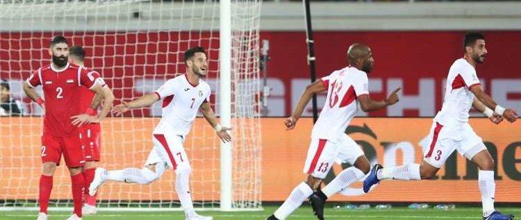 فوز الأردن على سوريا في كأس آسيا 2019