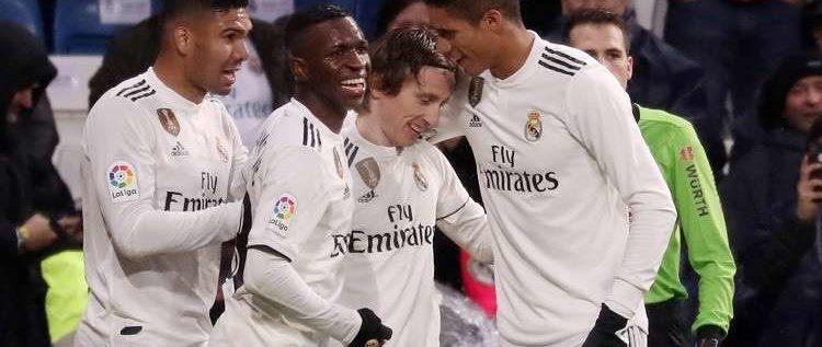 ريال مدريد يتغلب على إشبيلية ويقتنص المركز الثالث في الليغا