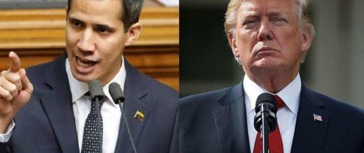 ترامب يعلن اعترافه بزعيم المعارضة الفنزويلية رئيسا انتقاليا للبلاد