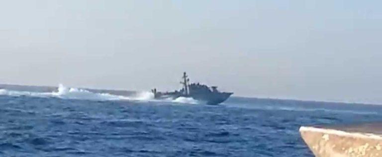 العدو الاسرائيلي يخرق السيادة اللبنانية بحرا