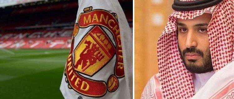 عين ولي العهد السعودي على مانشستر يونايتد الإنجليزي