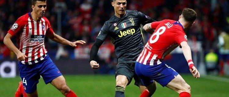 أتلتيكو مدريد يقهر يوفنتوس بثنائية ويضع قدما في دور الـ 16 لدوري الأبطال