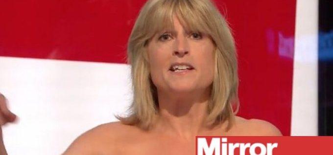 """شقيقة وزير خارجية بريطانيا السابق تتعرى احتجاجا على """"بريكست"""""""
