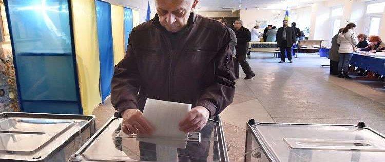 انطلاق الانتخابات الرئاسية في أوكرانيا