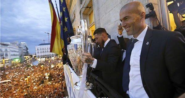 أول تعليق من زيدان بعد عودته إلى ريال مدريد