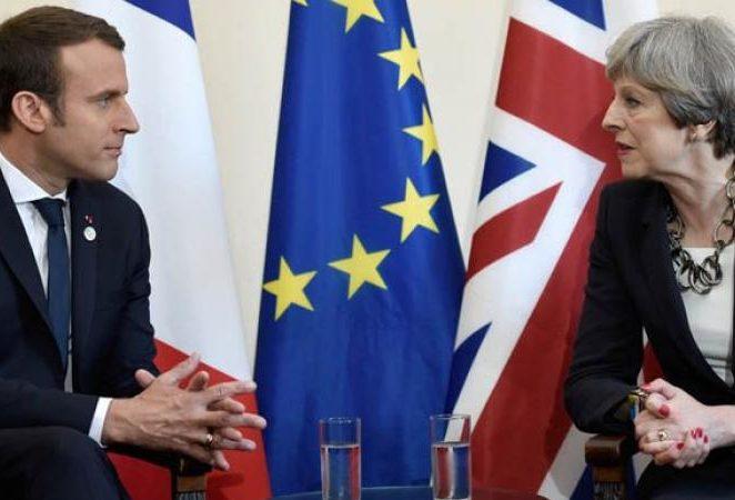 ماكرون: الاتفاق بشأن بريكست غير قابل للتفاوض مرة أخرى